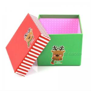 Small Square Paper Printing Christmas Eve Apple Gift Box