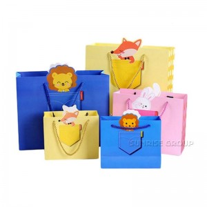 Custom Paper Hand Bag for Packaging Gift Bag