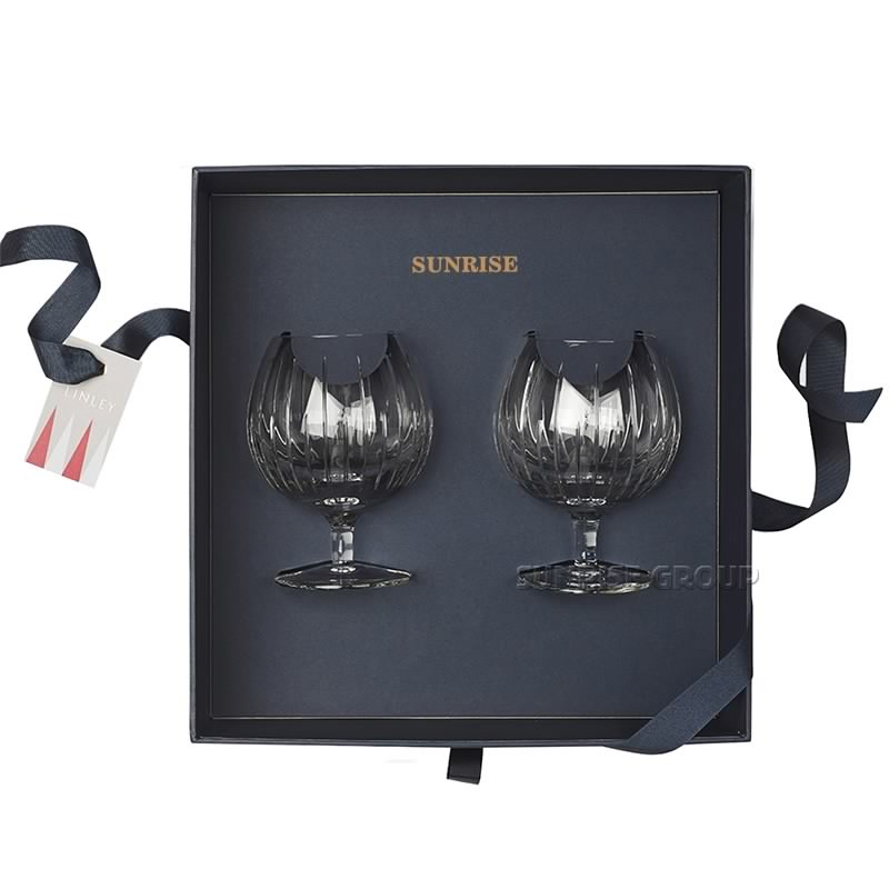 Hot Selling Promotion Wine Bottle Wine Glass Packaging Box