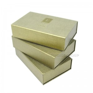 Wholesale Fashion Hand-made Gift Paper Packaging Storage Box for Cosmetic