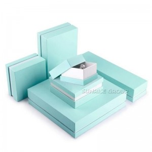 Sunrise Cheap High Quality Printed Jewelry Ring Bracelet Gift Box wholesale